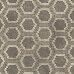 Aquarelle Honeycomb Tile Grey